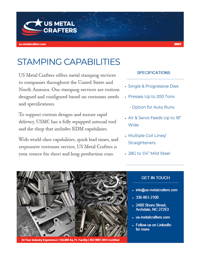 Stamping Flyer